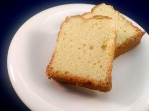 梅風味のパウンドケーキ