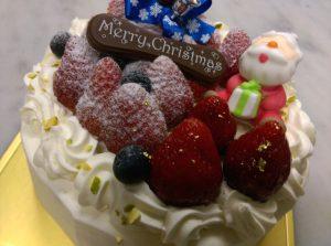 京都・長岡京プチ・ラパンのクリスマスケーキ