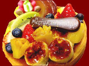 京都・長岡京プチ・ラパンのクリスマスケーキ2018