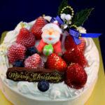 京都・長岡京プチ・ラパンのクリスマスケーキ2019